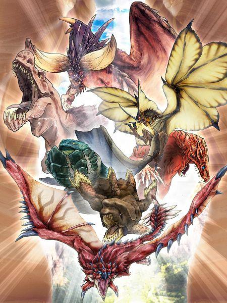 Anime Characters Monster Hunter World : Monster hunter world image zerochan anime