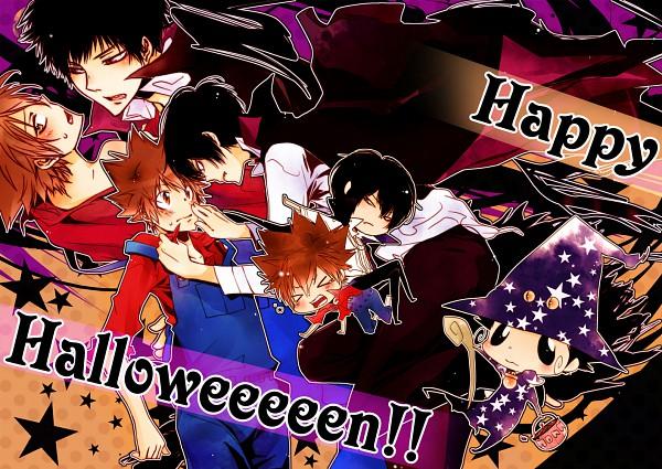 Tags: Anime, Monster Tamer Tsuna, Katekyo Hitman REBORN!, Eldo Rebo, Hibari Kyoya, Sawada Tsunayoshi, Monster Tamer Tsuna (Character), Hibarin, Reborn