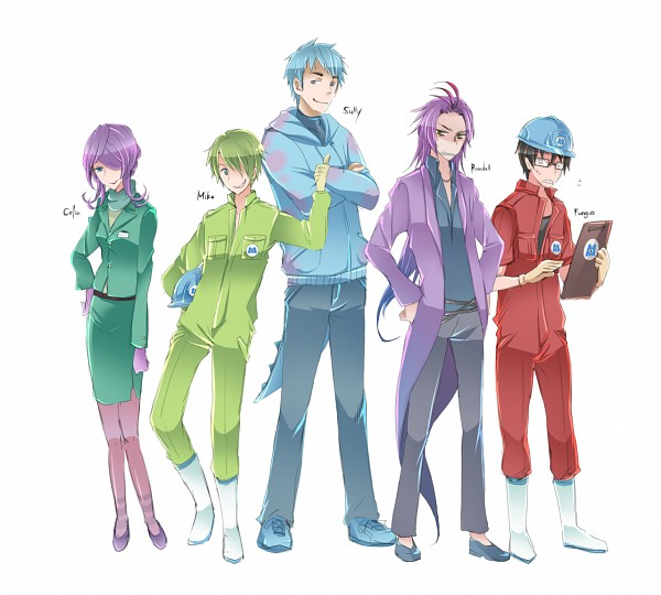 Tags: Anime, Pixiv Id 63195, Monsters Inc., Michael