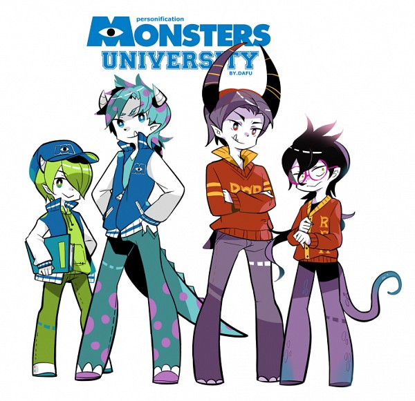 Tags: Anime, Pixiv Id 343386, Monsters Inc., Monsters University, Randall Boggs, Michael