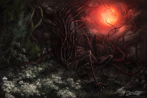 Tags: Anime, Bloodborne, Moon Presence, Red Moon, Presence Moon