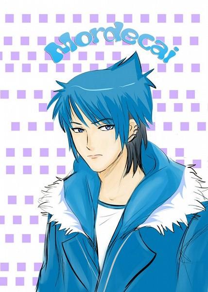 Tags: Anime, Mordosama, Regular Show, Mordecai (Regular Show), deviantART, Mobile Wallpaper