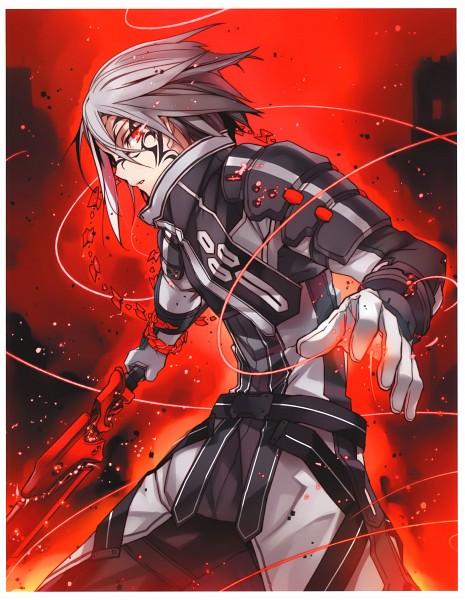 Tags: Anime, BUNBUN, Kaku-san-sei Million Arthur, Mordred (Million Arthur), Scan