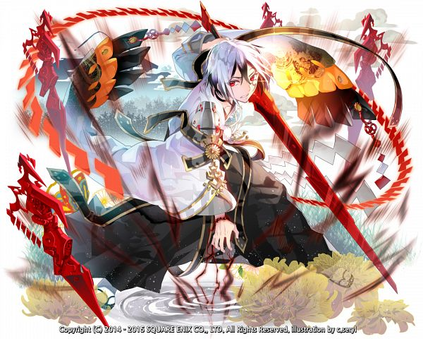 Tags: Anime, c.seryl, SQUARE ENIX, Kai-ri-sei Million Arthur, Mordred (Million Arthur), PNG Conversion, Official Art