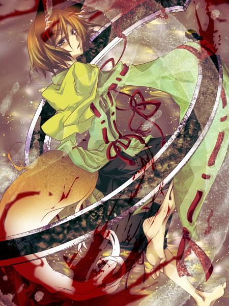 Tags: Anime, Pixiv Id 1900893, Sengoku Basara, Mori Motonari (Sengoku Basara)