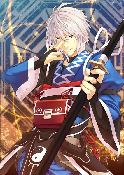 Tags: Anime, Eho, Touhou, Morichika Rinnosuke, Mobile Wallpaper, Fanart, Pixiv, Rinnosuke Morichika