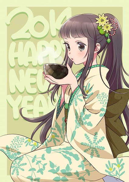 Tags: Anime, Morikura En, Pixiv, Happy 2014