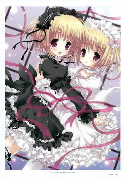 Tags: Anime, Morinaga Korune, Dengeki Moeoh 2008-12, Dengeki Moeoh Ten Colors, Dengeki Moeoh