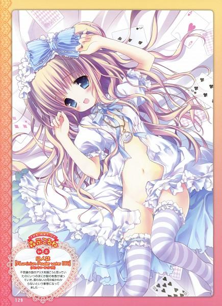 Tags: Anime, Morinaga Korune, Dengeki Moeoh 2011-02, Dengeki Moeoh