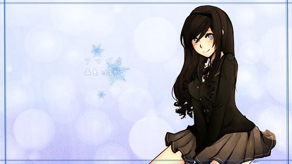 Tags: Anime, SweetieMoon, Amagami, Morishima Haruka, HD Wallpaper, deviantART, Facebook Cover, Wallpaper