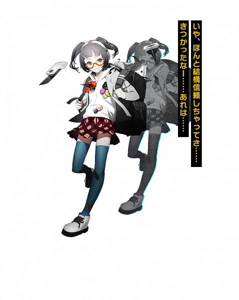 Tags: Anime, OGch, Historia (Studio), Caligula: Overdose, Caligula, Morita Naruko, Official Art