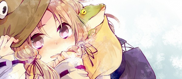 Tags: Anime, Nozaki Tsubata, Touhou, Moriya Suwako, Fanart, Fanart From Pixiv, Pixiv, Facebook Cover, Suwako Moriya