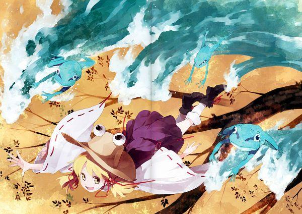 Tags: Anime, Shihou (g-o-s), Touhou Yuu Gajou Ni, Touhou, Moriya Suwako, Crease, Scan, Comic Market 81, Comic Market, Fanart, Suwako Moriya