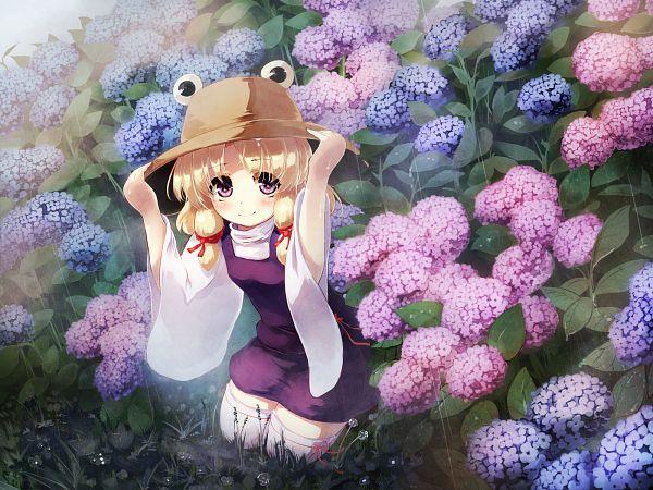 Tags: Anime, Gengetsu Chihiro, Touhou, Moriya Suwako, Pixiv, Wallpaper, Fanart From Pixiv, Fanart, Suwako Moriya