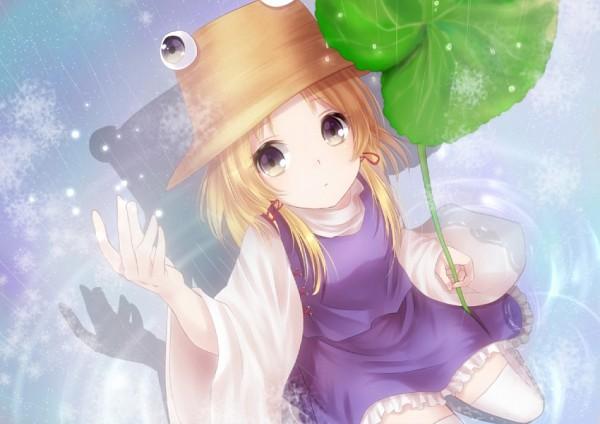 Tags: Anime, Nunucco, Touhou, Moriya Suwako, Frog Hat, Pixiv, Fanart, Suwako Moriya
