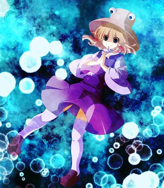 Tags: Anime, Touhou, Moriya Suwako, PNG Conversion, Suwako Moriya