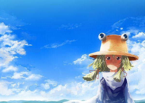 Tags: Anime, Kitada Ryouma, Touhou, Moriya Suwako, Fanart, Pixiv, Suwako Moriya