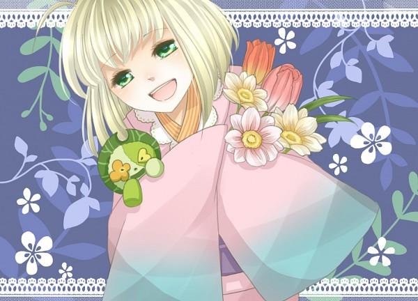 Tags: Anime, Mayupon1114 (Artist), Ao no Exorcist, Ni, Moriyama Shiemi, PNG Conversion