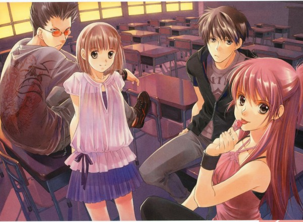 Tags: Anime, Shiina Yuu, Morpheus no Kyoushitsu, Garnet - You Shiina's Illustrations, Scan, Morpheus's Classroom