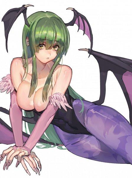 Tags: Anime, Tanaka Alma, Darkstalkers, Morrigan Aensland, Twitter, Fanart