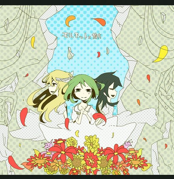 Tags: Anime, Pixiv Id 2051414, VOCALOID, Fan Character, GUMI, Morumotto to Youhei, Pixiv, Guinea Pig And Mercenaries