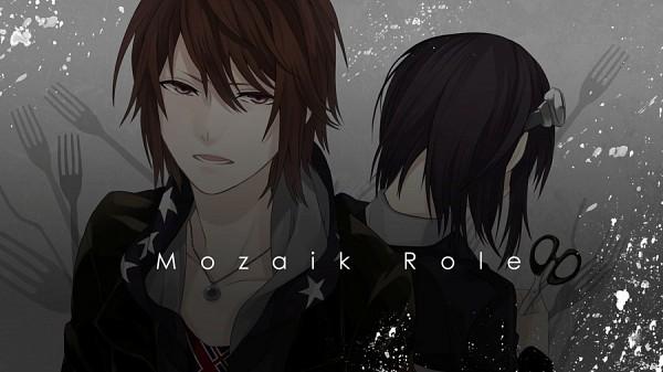 Tags: Anime, Kyou Zip, Nano (Nico Nico Singer), DECO*27, Mosaic Role, Facebook Cover, Nico Nico Singer
