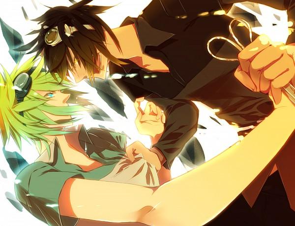 Tags: Anime, Sooichi, VOCALOID, GUMO, Pixiv, Mosaic Role, Fanart