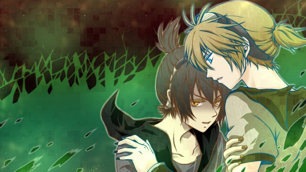 Tags: Anime, VOCALOID, Kagamine Len, Facebook Cover, Artist Request, Mosaic Role, Wallpaper