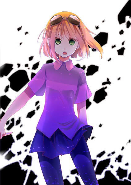 Tags: Anime, Shigure Ui, VOCALOID, GUMI, Dark Colors, Beautiful Eyes, Mosaic Role, Mobile Wallpaper