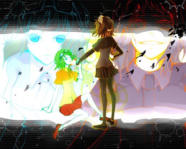 Tags: Anime, Shunrin, VOCALOID, GUMI, Mosaic Role, Pixiv