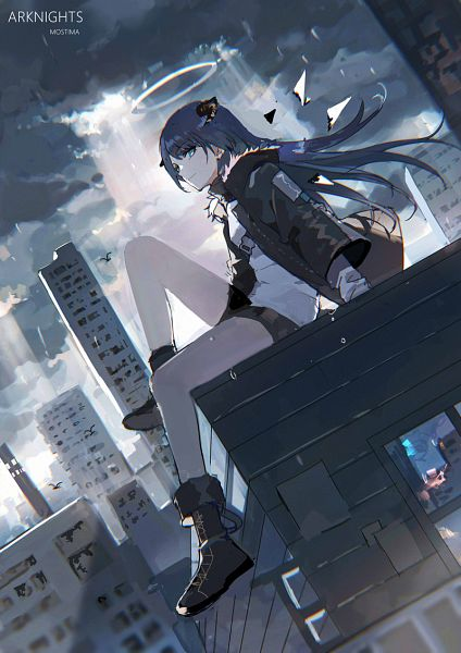 Tags: Anime, Lococo:p, Arknights, Mostima