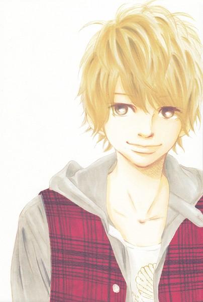 Tags: Anime, Yuuki Obata, Bokura ga Ita, Motoharu Yano, Traditional Media, Scan, Mobile Wallpaper