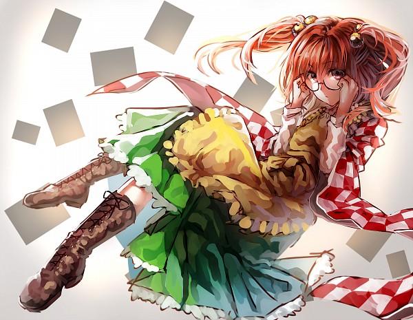 Tags: Anime, Kumorix, Touhou, Motoori Kosuzu, Fanart From Pixiv, PNG Conversion, Pixiv, Fanart, Kosuzu Motoori