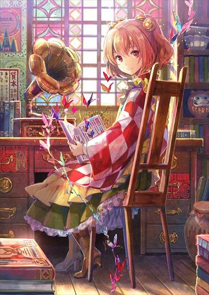 Tags: Anime, Fuji Choko, Touhou, Motoori Kosuzu, Kosuzu Motoori