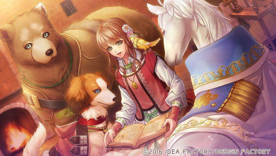 Tags: Anime, Murasaki Aya, Otomate, DESIGN FACTORY, Moujuu-tachi to Ohime-sama, Ludwik (Moujuu-tachi to Ohime-sama), Mias (Moujuu-tachi to Ohime-sama), Jozef (Moujuu-tachi to Ohime-sama), Julia (Moujuu-tachi to Ohime-sama), Ryszard (Moujuu-tachi to Ohime-sama), CG Art, Official Art, Beast And Princess