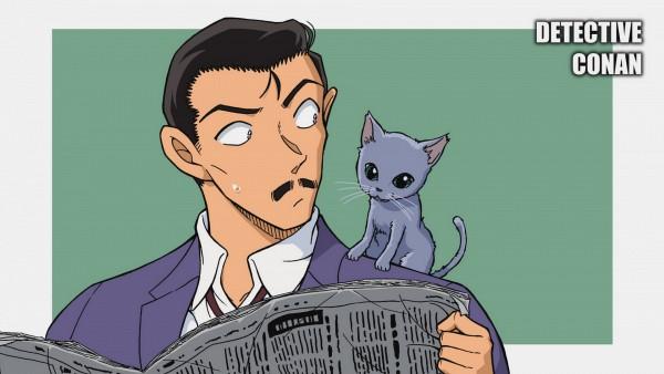 Mouri Kogorou (Richard Moore) - Meitantei Conan