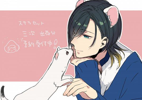 Tags: Anime, Sumeragi Kohaku, BUSTAFELLOWS, Mozu (BUSTAFELLOWS), Official Art, Twitter