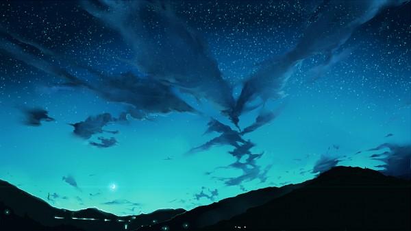 Tags: Anime, Mozuku Doukoukai, Dusk/Dawn, Pixiv, Facebook Cover