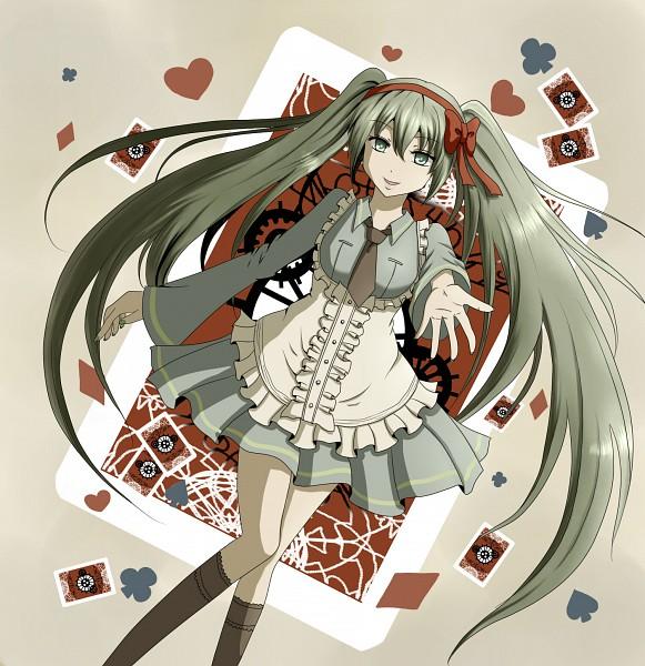 Tags: Anime, VOCALOID, Hatsune Miku, Mr. Alice