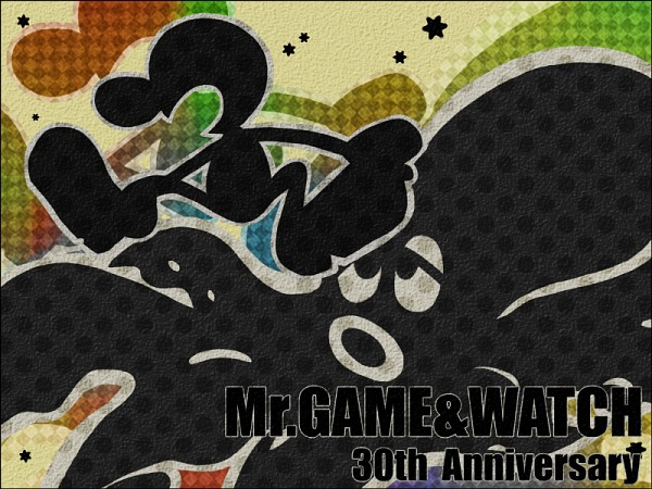 Mr. Game And Watch - Game And Watch