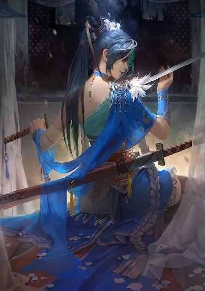 Tags: Anime, Mu Murein, ArtStation, Mobile Wallpaper, Original