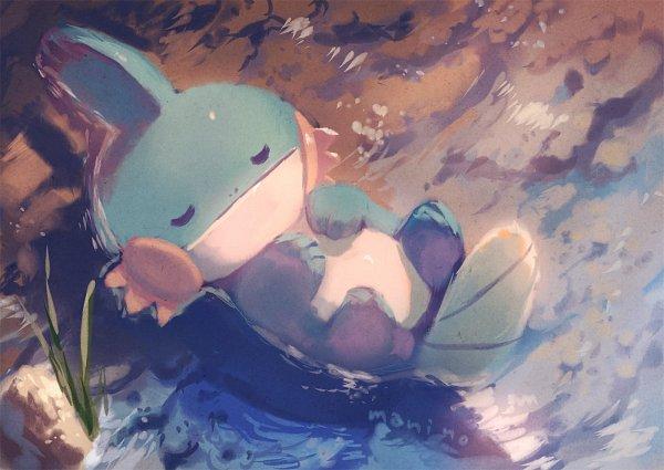 Tags: Anime, Pixiv Id 14639149, Pokémon, Mudkip, Fanart, Fanart From Pixiv, Pixiv