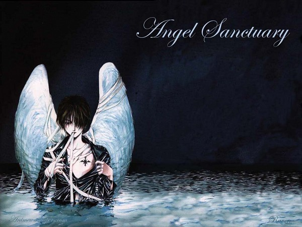 Tags: Anime, Angel Sanctuary, Mudo Setsuna, Wallpaper