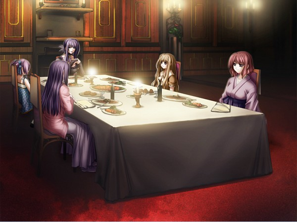 Tags: Anime, Black Cyc, Mugen Kairou, Kujou Nanaka, Kujou Kaoruko, Kujou Reika, Kujou Yumiko, Kujou Tamaki, CG Art