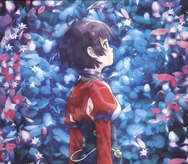 Tags: Anime, WIT STUDIO, Koutetsujou no Kabaneri, Mumei (Koutetsujou no Kabaneri), Official Art, Scan