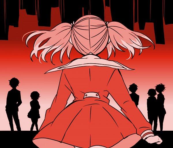 Tags: Anime, Pixiv Id 4257060, Munou na Nana, Onodera Kyouya, Hiiragi Nana, Kazama Shinji (Munou na Nana), Sasaki Yuuka (Munou na Nana), Inukai Michiru, Character Request, Talentless Nana