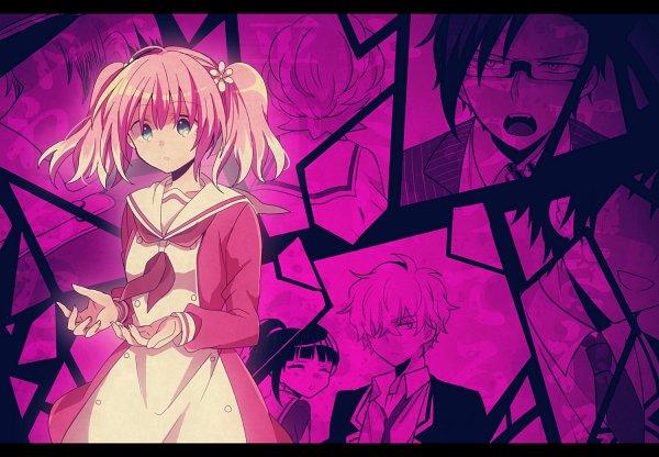 Tags: Anime, Pixiv Id 4257060, Munou na Nana, Hiiragi Nana, Tachibana Jin (Munou na Nana), Sorano Fuuko, Inukai Michiru, Onodera Kyouya, Character Request, Talentless Nana