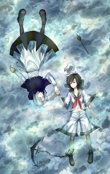 Tags: Anime, Pixiv Id 1068030, Touhou, Murasa Minamitsu, Kumoi Ichirin, MuraIchi