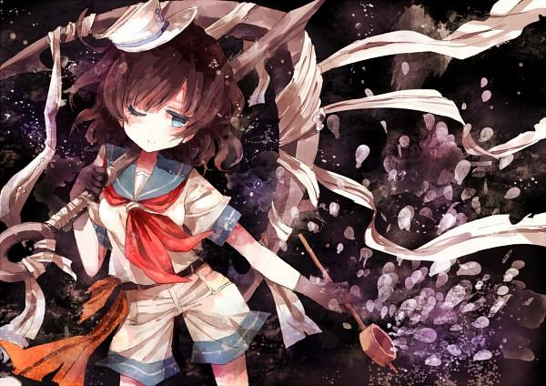 Tags: Anime, Hisona, Touhou, Murasa Minamitsu, Ladle, Anchor, Pixiv, Fanart, Minamitsu Murasa