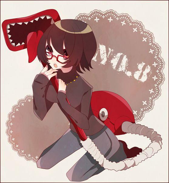 Tags: Anime, Arisusama, Hunter x Hunter, Murasaki Shizuku, Vacuum, Deme-chan, Fanart, Pixiv